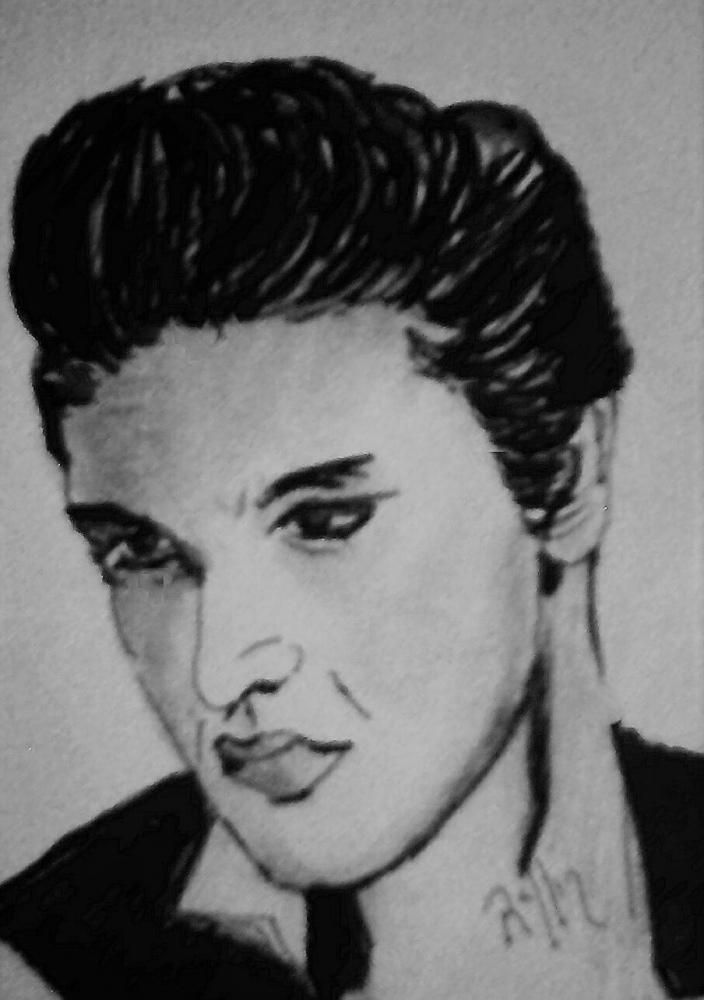Elvis Presley by maline